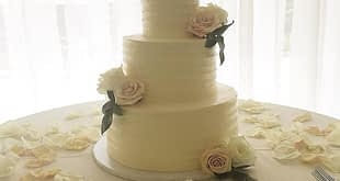 Simply Desserts wedding cake