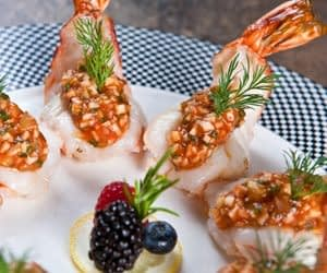 Butterfly-Shrimp-with-Celery-Root-Relish